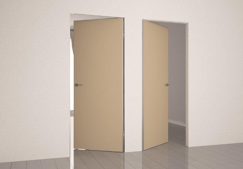 Межкомнатные двери без наличников в интерьере
