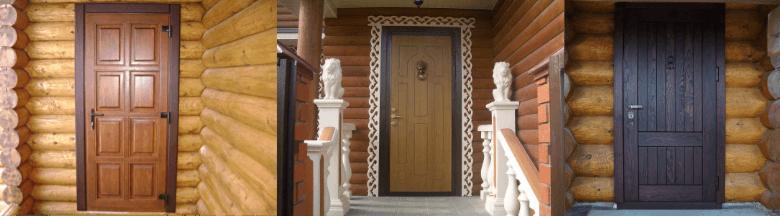 входные деревянные двери на дачу
